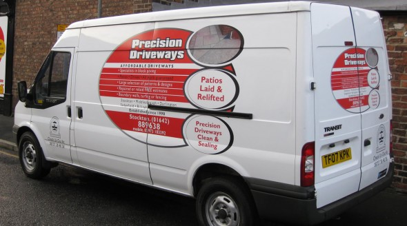 Latest Van Decals