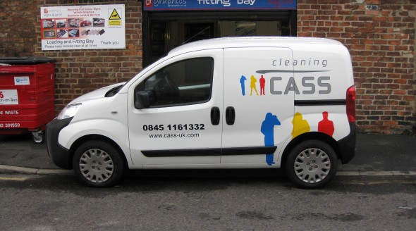CASS Cleaning Van Graphics
