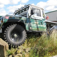 PVH Land Rovers Stokesley custom trayback