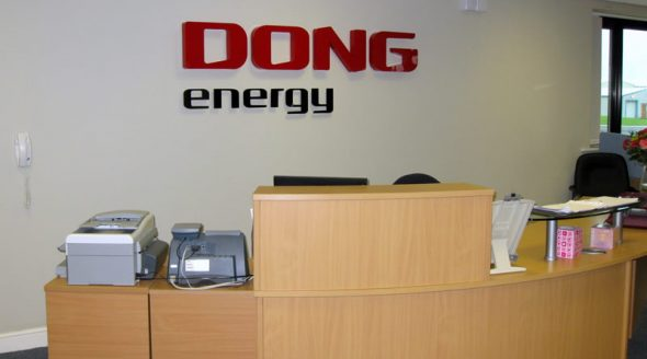 Dong Energy Signs, Canvas and Totem Sign