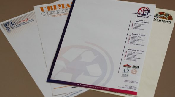 Business Stationary Letterheads