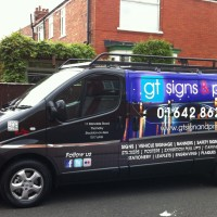 New GT Signs and Print Van and Graphics