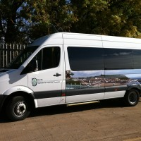 North Yorkshire County Council Van Decals