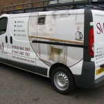 Spacemaster Comercial Vehicle Graphics