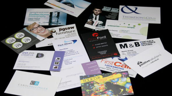 Selection of Business Cards