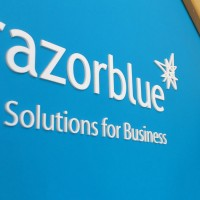Razorblue IT Solutions signs and graphics