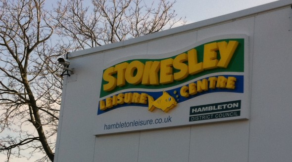 Stokesley Leisure Centre Sign