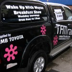 TFM Radio Vehicle Graphics